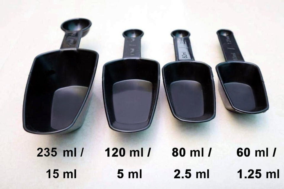 2178 Plastic Measuring Cup Set  fort Kitchen Utility (4pc) (With box) - DeoDap