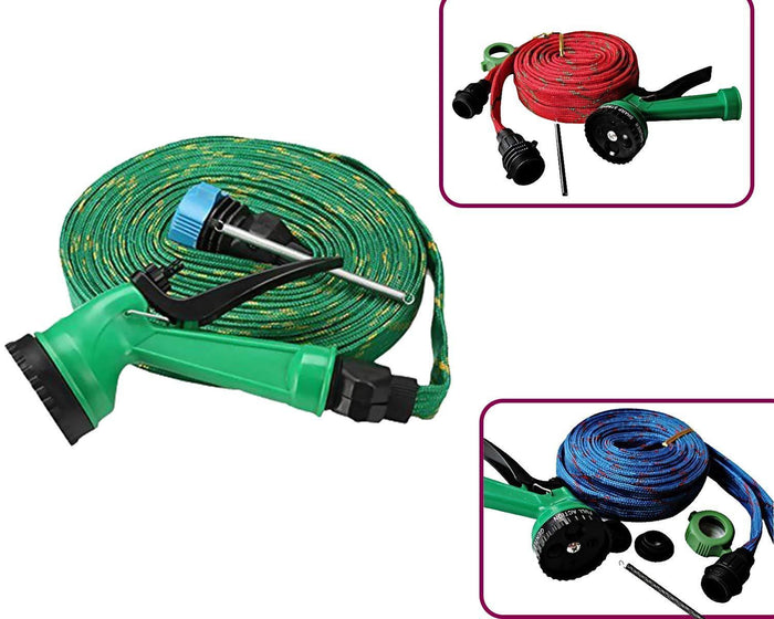 squirt Gun 10 Meter Water Spray Gun For Home Bike Car Cleaning Gardening Plant Tree Watering Wash - Multifunction Garden Hose 10 L Hose-end Sprayer (Pack of 1)