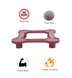 0823 Heavy Duty Refrigerator Stand Suitable for All Types - DeoDap
