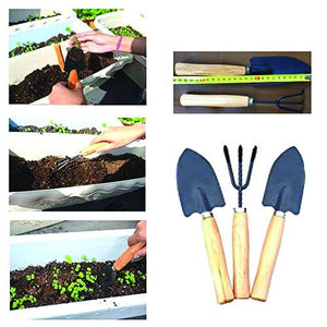 Mitra.Today Gardening Hand Cultivator, Big Digging Trowel, Shovel & Garden Gloves with Claws for Digging & Planting