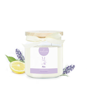 essential relax scented candle with jewel jewelcandle product picture cut int
