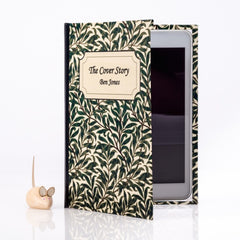 PERSONALISED BOTANICAL BOOK COVER CASE for the Kobo Aura: Inner Cover