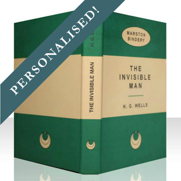 GREEN PERSONALISED RETRO BOOK COVER CASE for Any Device: Full Cover