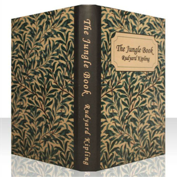 CLASSIC JUNGLE BOOK COVER CASE for the Kindle Voyage: Full Cover