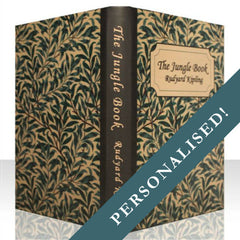 PERSONALISED BOTANICAL BOOK COVER CASE for the General: Full Cover