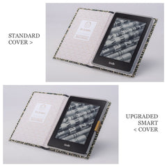 PERSONALISED TAN BOOK COVER CASE for the Kindle Paperwhite: Holder