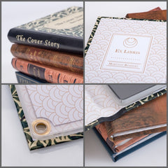 BLUE PERSONALISED RETRO BOOK COVER CASE for the General: Details
