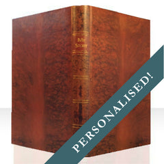 PERSONALISED TAN BOOK COVER CASE for Any Device: Full Cover
