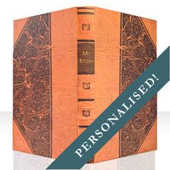 PERSONALISED MARBLED BOOK COVER CASE for the Kindle Fire: Full Cover