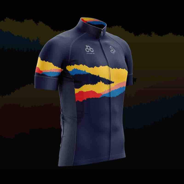 Cycling BC Evening of Champions Ridgelines Jersey - Navy Cycling jerseys Cycling BC Shop