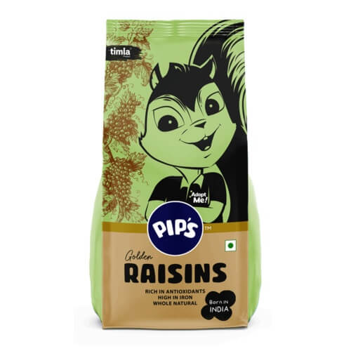 Raw Golden Raisins, 500g