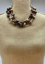 Load image into Gallery viewer, ARDEN NECKLACE -  001 - BROWN