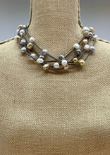 Load image into Gallery viewer, ARDEN NECKLACE -  001 - DARK GREY/MIX