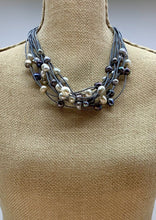 Load image into Gallery viewer, GINETTE NECKLACE -  004 - GREY MIX