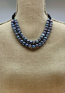 KERRY NECKLACE  - 022 - BLACK