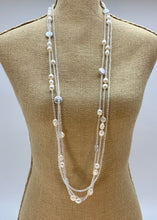 Load image into Gallery viewer, INTA NECKLACE - 026 - CLEAR - 1 ONLY