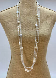 INTA NECKLACE - 026 - CLEAR - 1 ONLY