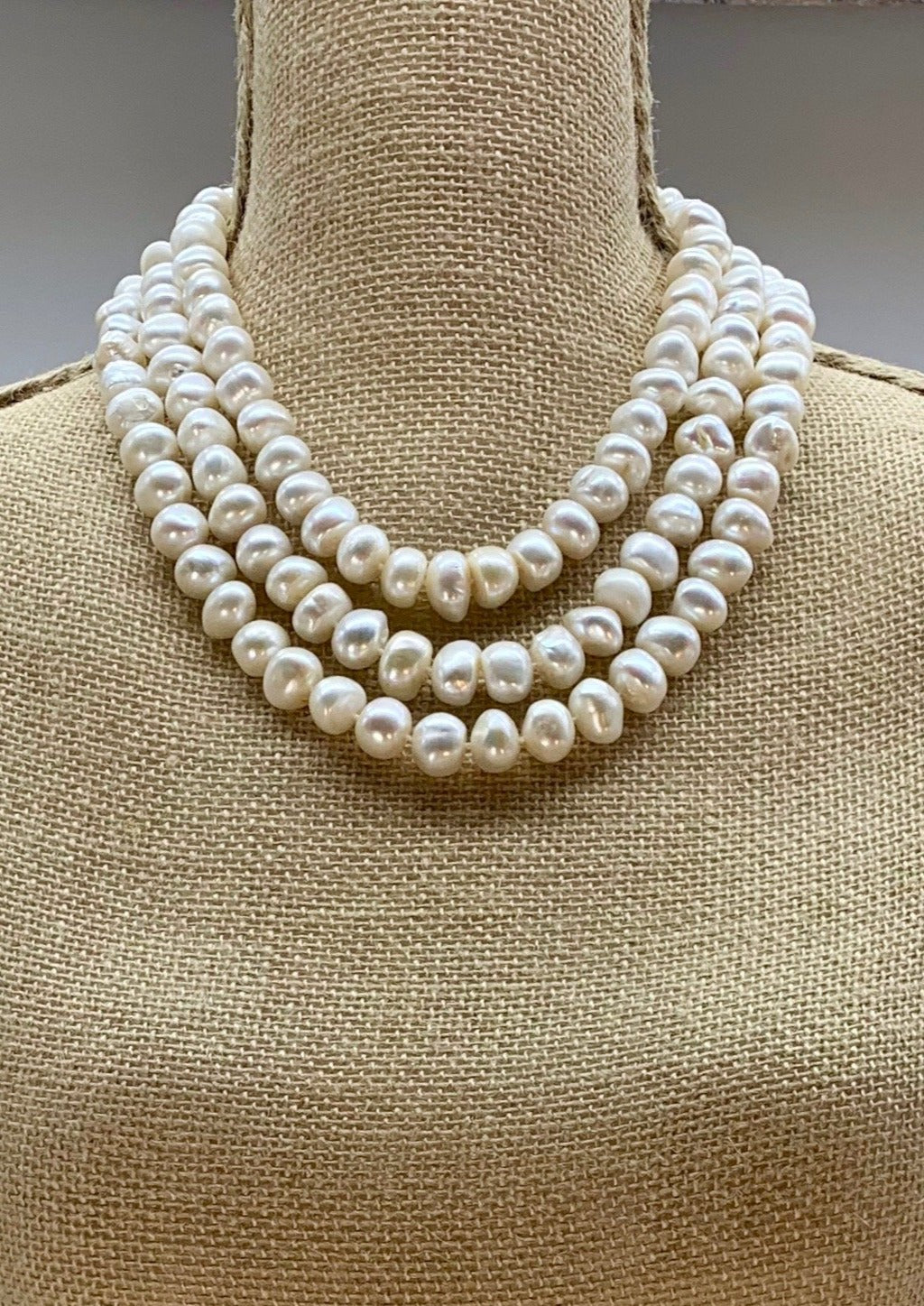 HARLOW NECKLACE - 038 - WHITE