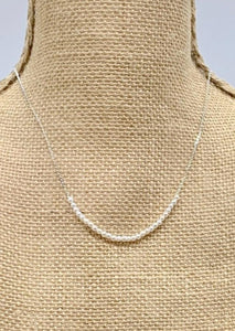 ZOE NECKLACE  - 103 - WHITE GOLD