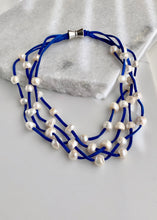 Load image into Gallery viewer, ARDEN NECKLACE -  001 - ROYAL BLUE