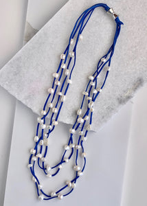 BRE NECKLACE  - 002 - ROYAL BLUE