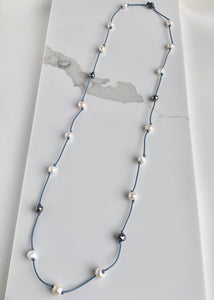 RUBY NECKLACE - 074 - BLUE