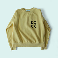 Cher Coulter '1985' Sweatshirt in Butter