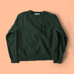 Cher Coulter '1985' Sweatshirt in Evergreen
