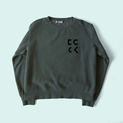 Cher Coulter '1985' Sweatshirt in Sage