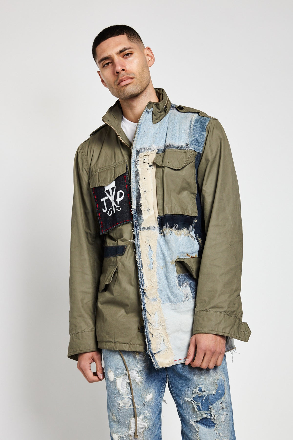 DESIGNER MILITARY VINTAGE JACKETS IN GREEN (Made To Order Only)