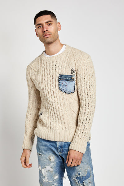 WOOL SWEATER (MADE TO ORDER ONLY)-SHIRTS-Mundane Official-L-Mundane Official