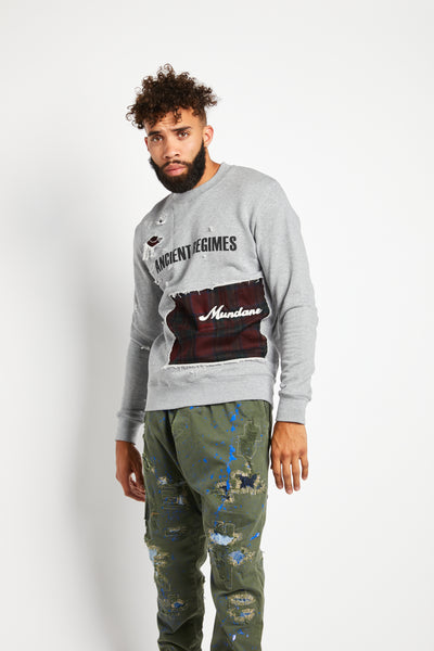 ORIGINAL GREY ANCIENT REGIMES SWEATSHIRT
