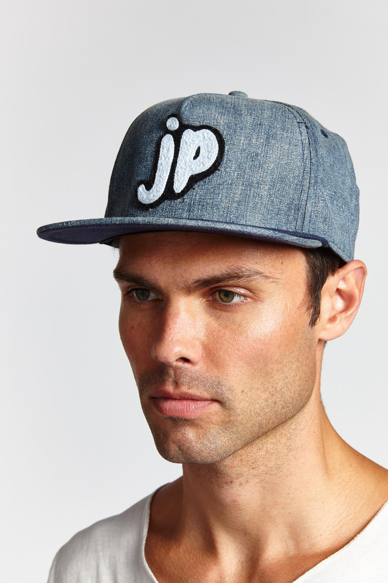 JP CUSTOM LOGO BLUE HAT-ACCESSORIES-Mundane Official-blue-Mundane Official
