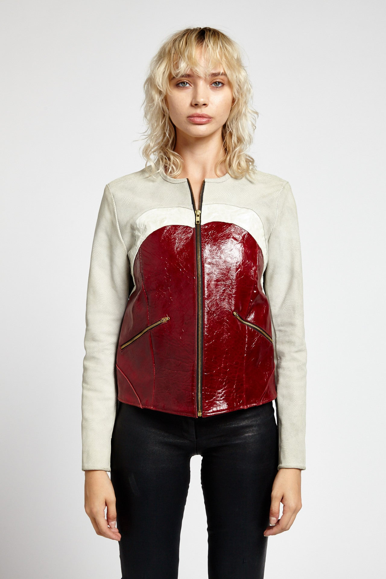 CASTOR BEAN TOP WHITE JACKET-JACKETS-Mundane Official-S-Mundane Official