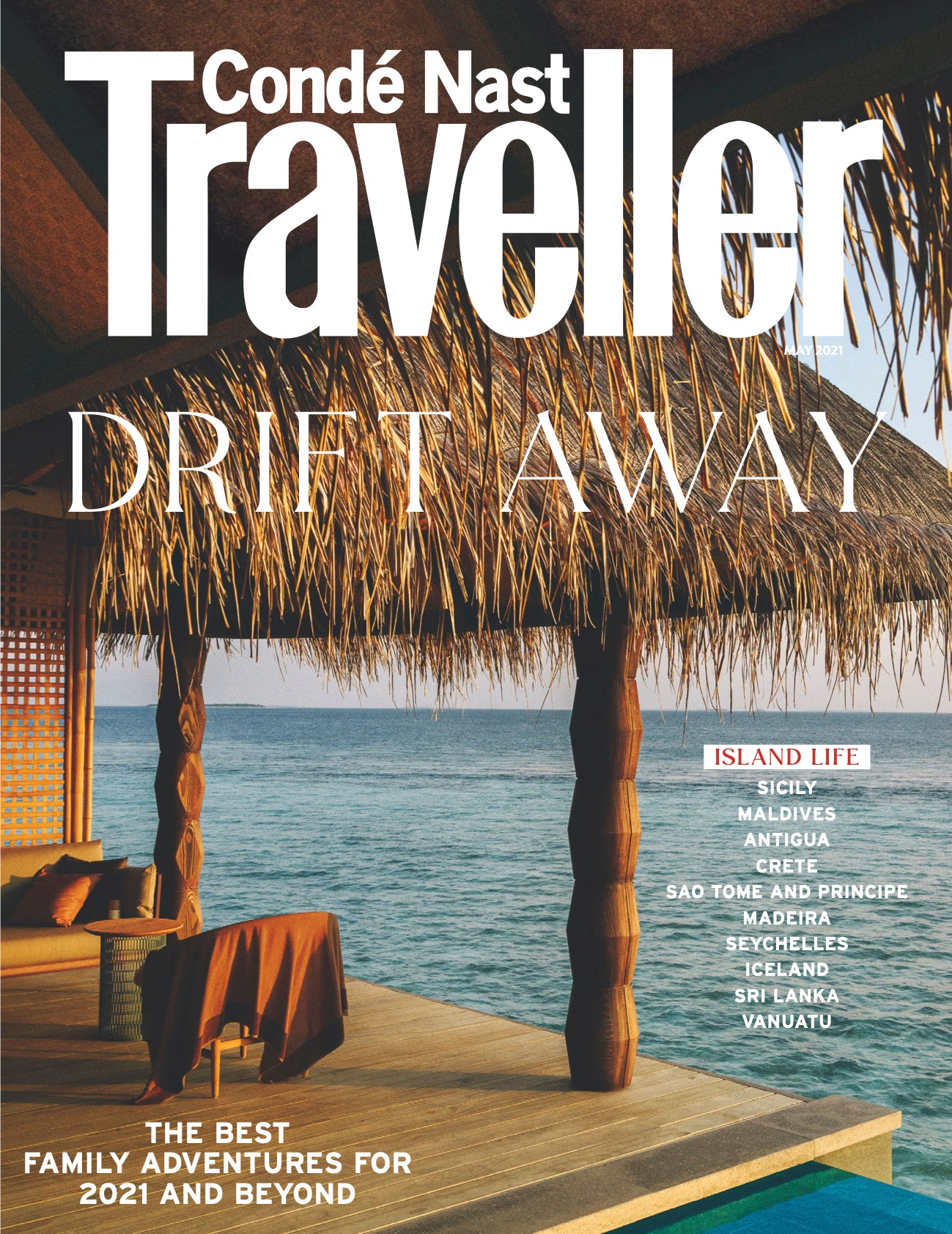 Condé Nast Traveller - Cover May 2021