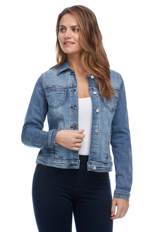 FDJ Jean Jacket with Studding