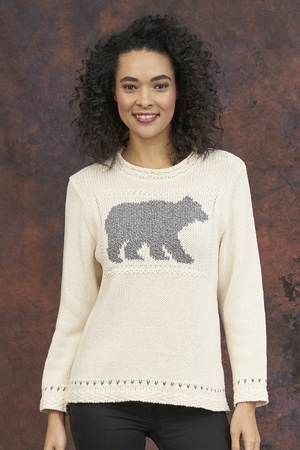 Open image in slideshow, Parkhurst Cotton Country Laurentian Bear Pullover