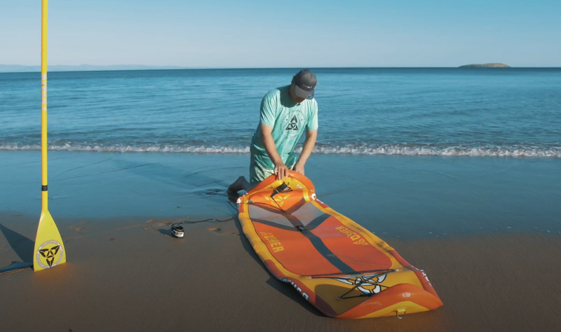 How to fold your SUP in the best way