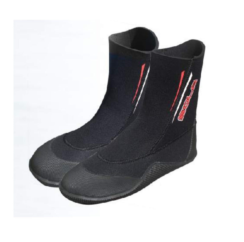 Sola - Wetsuit Boots - Round Toe - 5mm - A0725
