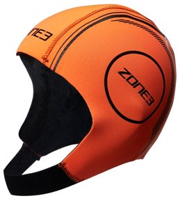 Zone3 Neoprene Hi-Vis Swim Cap