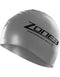 Zone 3 Silicone swim cap grey