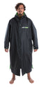Dryrobe Long sleeve changing robe - Black/ green