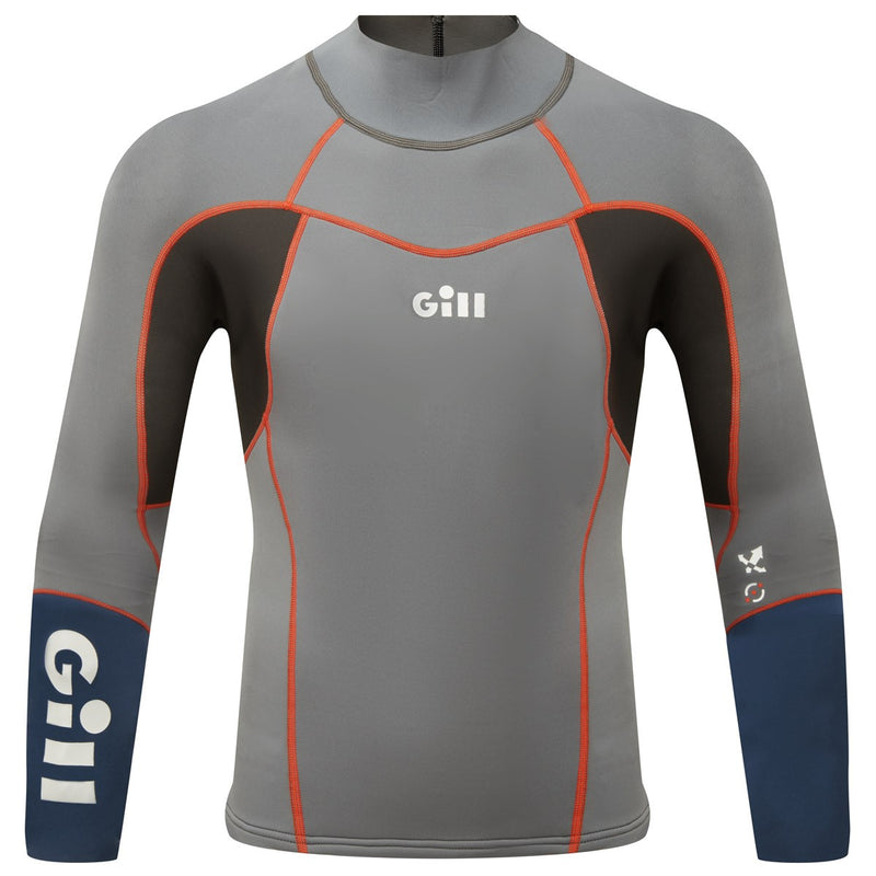 Gill ZenLite Top - Men's Steel Grey - 5003