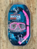Typhoon Junior/Ladies Silicone Snorkel Set