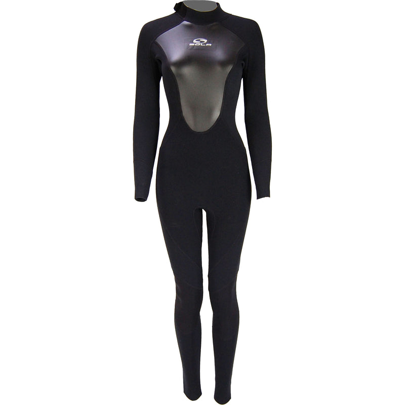 Sola Ignite Women's 3/2mm Full Wetsuit - Black - A1712