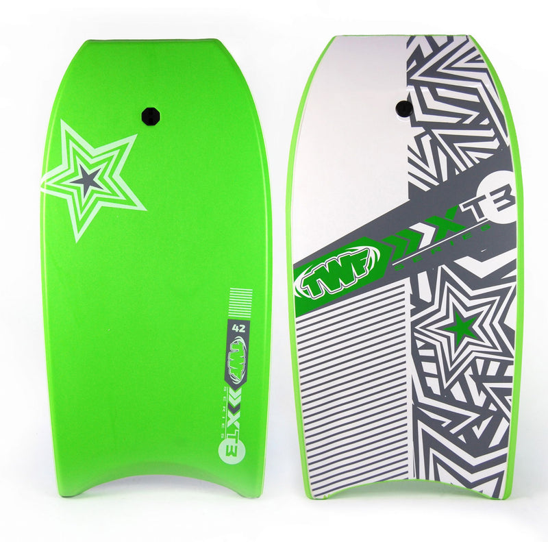 XPE Slick Back Bodyboard Green