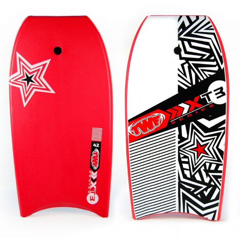 XPE Slick Back Bodyboard Red