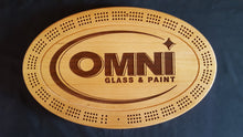 Load image into Gallery viewer, Corporate Custom Cribbage Board