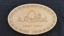 Load image into Gallery viewer, Personalized Custom Cribbage Board