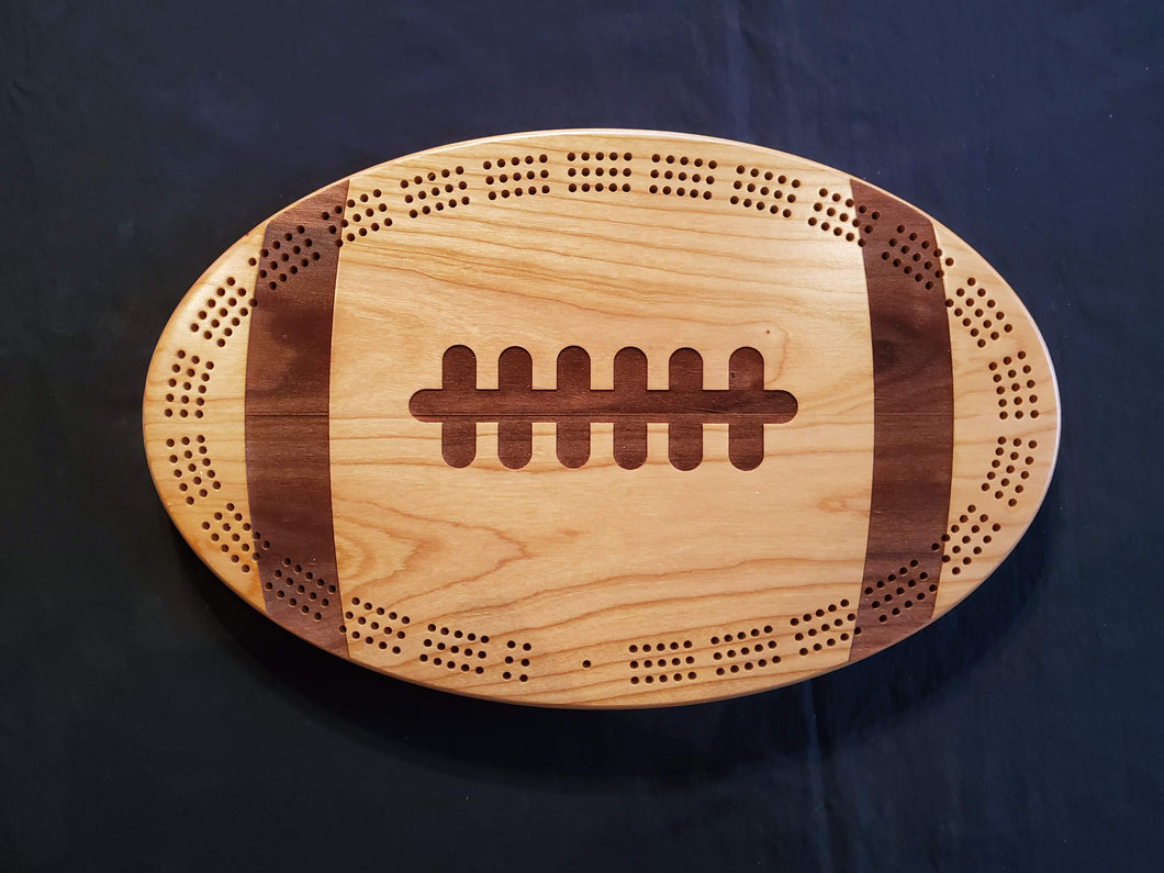 Football Cribbage Board